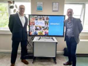 Abbeychart supports Just a Drop schools programme