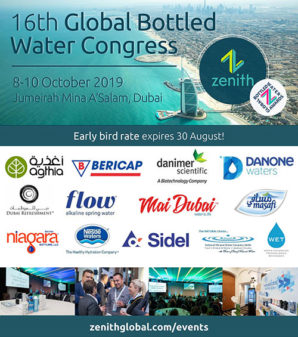 Dubai to host Global Bottled Water Congress in October