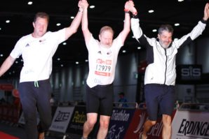 4 Aces and Seaton Spring team up to complete the London Triathlon