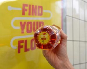Exclusive Lucozade bottles contained contactless technology