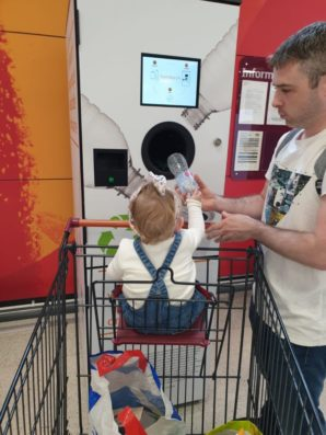 Sainsbury's launches reverse vending recycling trial