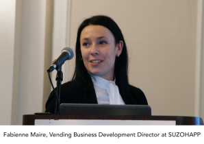 Fabienne Maire appointed as vending business development director at SUZOHAPP