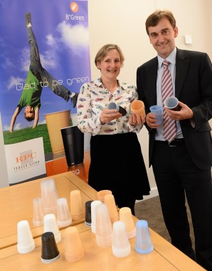 National Assembly event highlights evolution of healthy vending in Wales