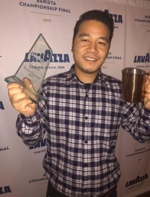 Top barista named as Lavazza hosts first-time competition