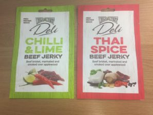 New dedicated pack size of jerky for the vending market