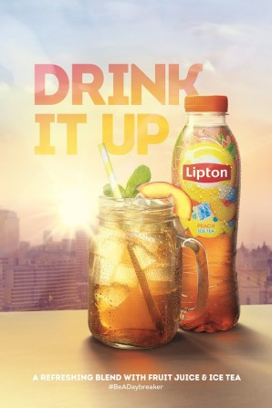 Lipton Ice Tea breaks from routine and is set to refresh consumers with new campaign
