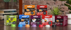 Lavazza launches compostable capsules