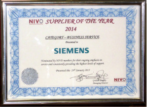 Siemens Financial Services crowned six-year winner at NIVO awards