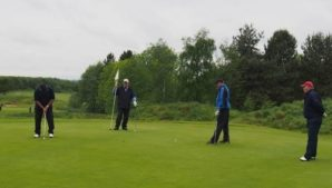 Hole in one for vending industry at 37th Hawkstone Golf Day