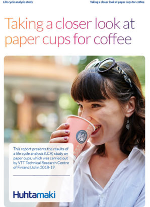 Life-cycle study shows: a paper cup has the lowest carbon footprint – and recycling makes it even smaller