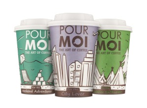 Graphic design student takes Pour Moi cup