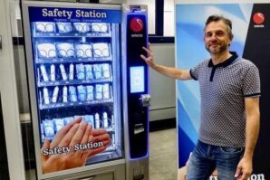Access to face masks, sanitisers via vending machines