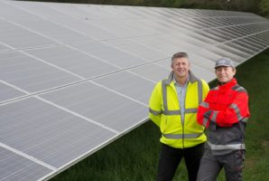CCEP makes the switch to renewable energy in UK