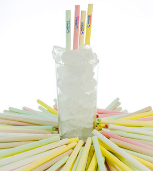 Edible straws can now be customised