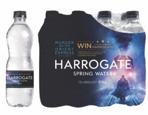 Harrogate Water partners 20th Century Fox for release of Murder on the Orient Express