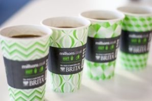 Millsons Vending introduces first custom printed cup with help from Benders