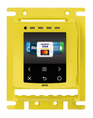 Nayax's latest cashless payment and telemetry device introduces cash acceptance