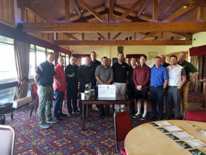 Memorial charity golf day raises £650 for British Heart Foundation