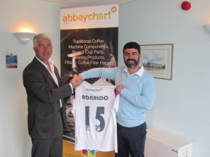 Ronaldo signs for Abbeychart