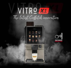 Coffetek launches compact Vitro X1 espresso machine with Distance Selection technology