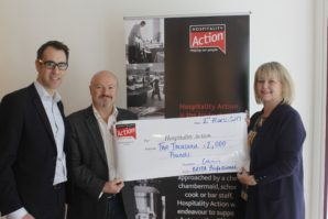 BRITA RAISES £2,000 FOR HOSPITALITY ACTION Great Hospitality Show goers let off steam with PURITY C Steam Cycling Challenge