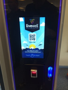 Livewell Vending installs Crane Merchandising Systems' latest technology across range of sites
