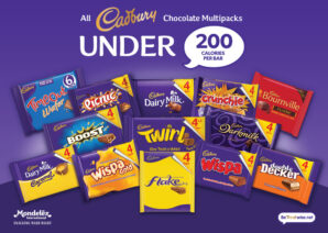 Mondelēz International moves to eliminate 10 billion calories from UK market